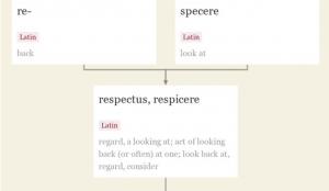 Respect Etymology
